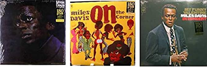 Miles DavisSet of 3 Miles Davis LP's - My Funny Valentine AND On The Corner AND In a Silent Way - All on 180 Gram Vinyl