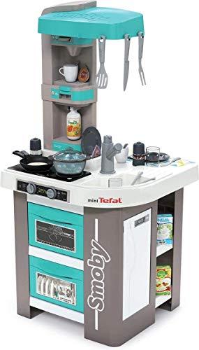 Smoby Cucina Studio Bubble azzurra, età 3 anni, articolo 7600311043