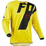 Mountain Bike Motocross Jersey Camiseta de Manga Larga - Traje de Descenso al Aire Libre A Prueba de Viento, Anti-UV (5,M)