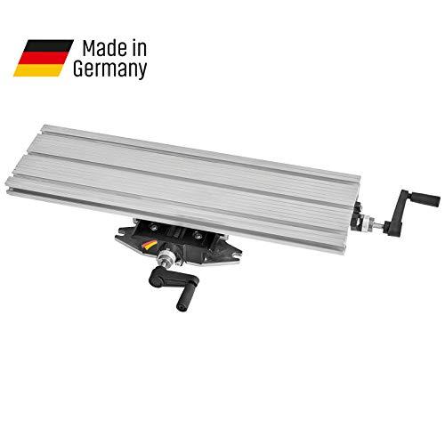 WABECO 2-Achsen Koordinatentisch K600 600 x 180 mm Kreuztisch Bohrtisch für Bohrständer