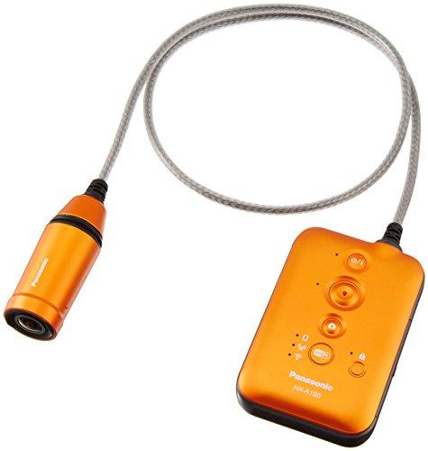 Panasonic ウェアラブルカメラ オレンジ HX-A100-D