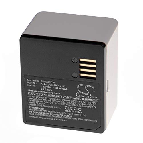 vhbw Batería Compatible con Arlo Pro 3, Ultra, Ultra +, Ultra 4K UHD, VMA5400-10000S Cámara Espia (5200mAh, 3,85V, polímero de Litio)