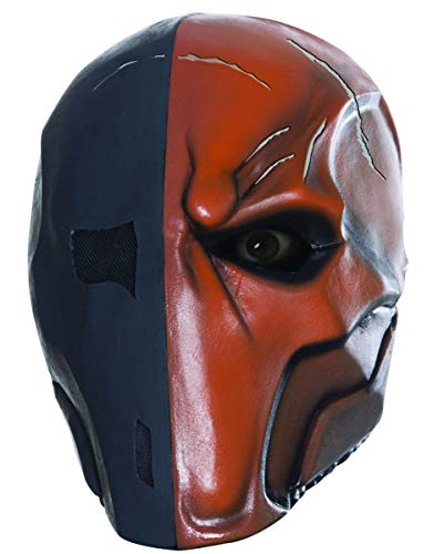 Horror-Shop Deathstroke Latex Vollmaske für Fasching