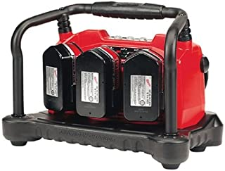 Milwaukee 48-59-0260 Multi-Bay 12-Volt to 18-Volt Slide Style 3 Bay 45 Minute Battery Charger