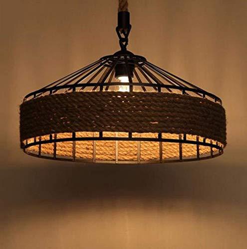Kroonluchter American Village kroonluchter retro creatieve woonkamerlamp landelijke hennepindustrie restaurant licht en lantaarns