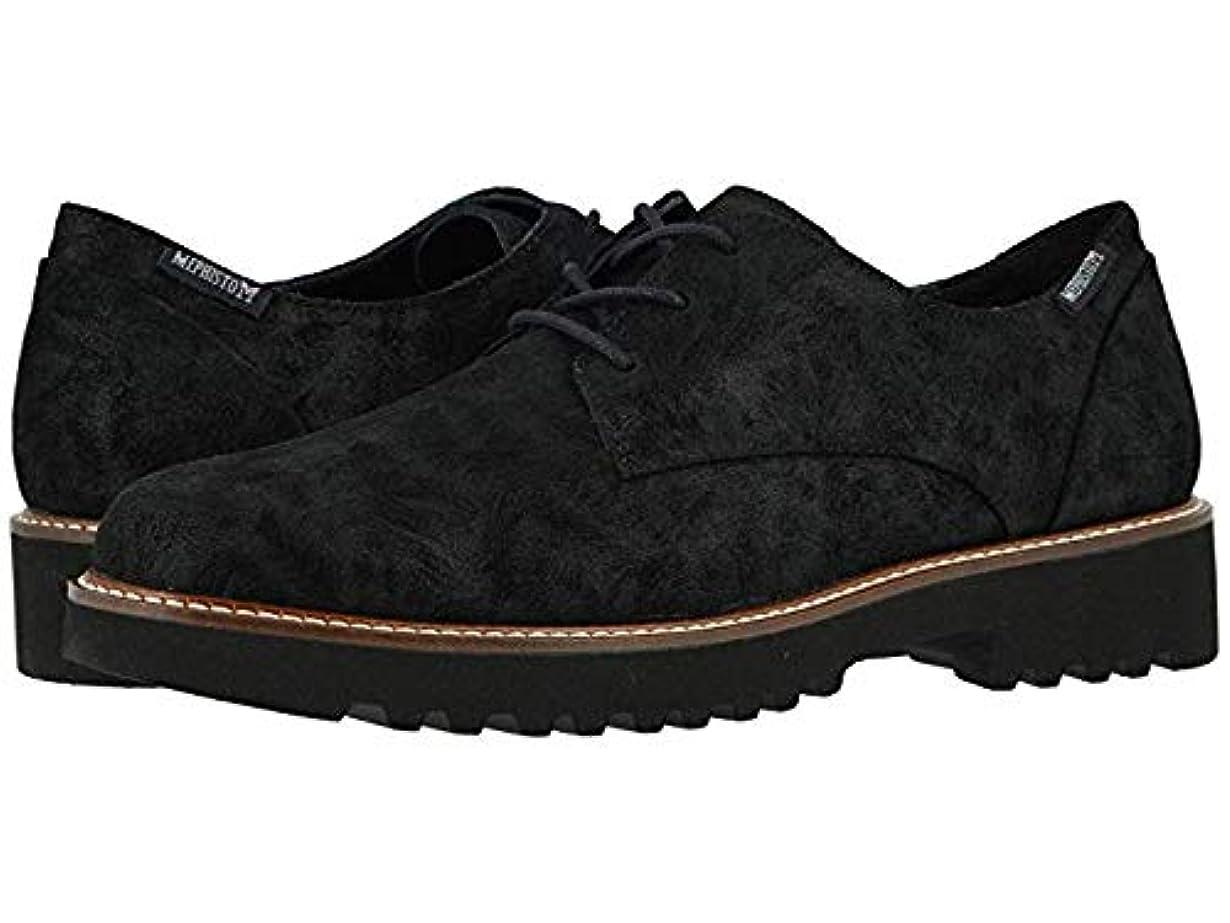 外科医冬神経衰弱レディースレースアップ?オックスフォード?靴 Sabatina Black Lido (23.5cm) B - Medium [並行輸入品]