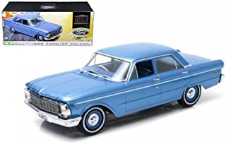 Greenlight New 1:18 Artisan Collection - Blue 1965 Ford XP Falcon (50TH Anniversary) Diecast Model Car