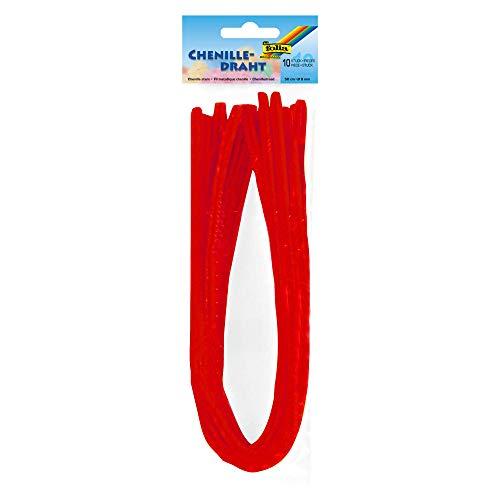 Folia M-Chenille 50x0.8 10 Rojo