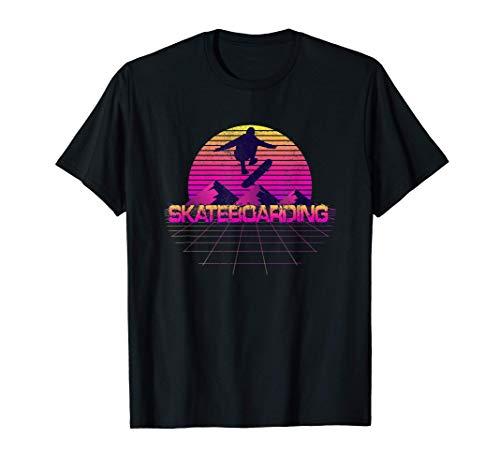 Skateboard Skaten Skateboarder 80s 90s Retro Arcade Style T-Shirt