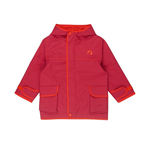 Finkid Tuulis persian red grenadine Kinder Zip In Outdoor Parka