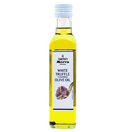 TARTUFALBA Italian White Truffle Flavored Oil - Tartufi MORRA from Alba - Gocce Di Tartufo Bianco - 1.86 FL OZ - 55 ML