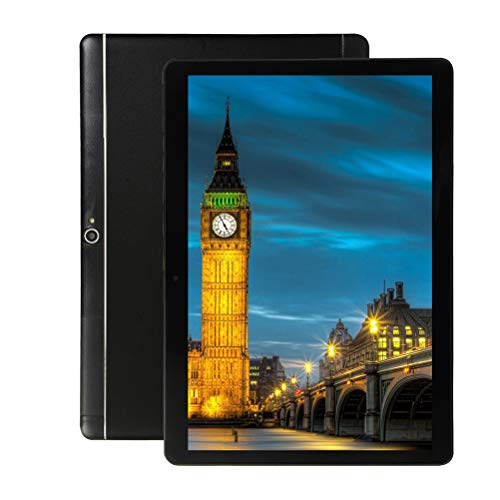 Android Tablet 10 inch, Octa-Core Phablet, 64GB ROM 4GB RAM, 1280800 IPS HD Display, 3G Phablet with Dual Sim Card Slots,Bluetooth,GPS,5G Wi-Fi, 5000 mah Battery,G2 (Black)