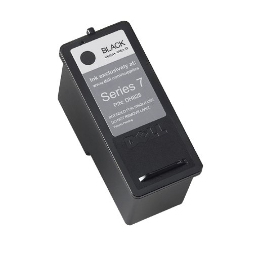 GENUINE ORIGINAL DELL BLACK Ink Cartridge CH883 Series 7 High Capacity