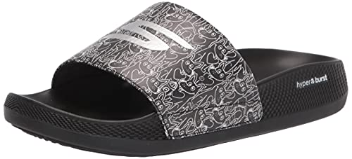 Skechers Women's Slide Sport Sandal, Black, 5