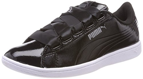 Puma Vikky Ribbon P, Zapatillas para Mujer, Negro (Black/Black 01), 39 EU
