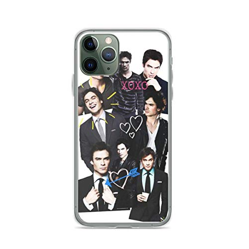 Phone Case Ian Somerhalder Compatible with iPhone 6 6s 7 8 X XS XR 11 Pro Max SE 2020 Samsung Galaxy Absorption Charm Funny