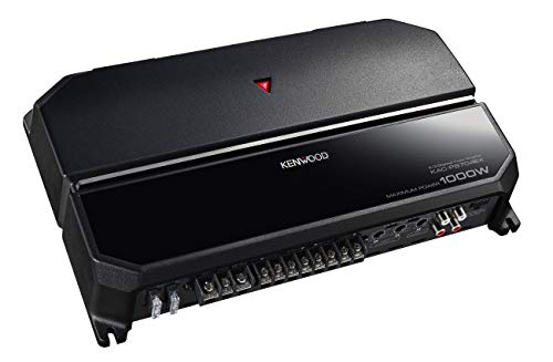 Kenwood KAC-PS704EX 4 Kanal Endstufe mit 2 Ohm Laststabilität Schwarz