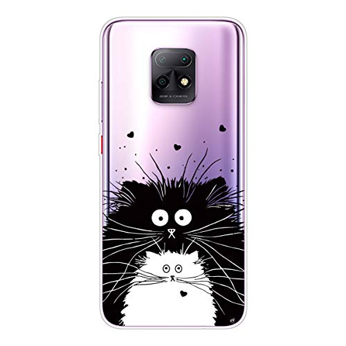 AChris Case Cover for Redmi Note 10 Pro Transparent Silicone Protective Case Shockproof Shock-Absorption with Stylish Pattern Soft Lightweight Ultra-Thin for Redmi Note 10 Pro, Mouse