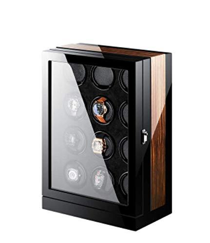 DFJU Automatischer Uhrenbeweger, Shakers Swing Boxes Mechanische Uhren Uhrenboxen Wickler Oszilloskope Lagertische (Farbe: 9) (Farbe: 12)