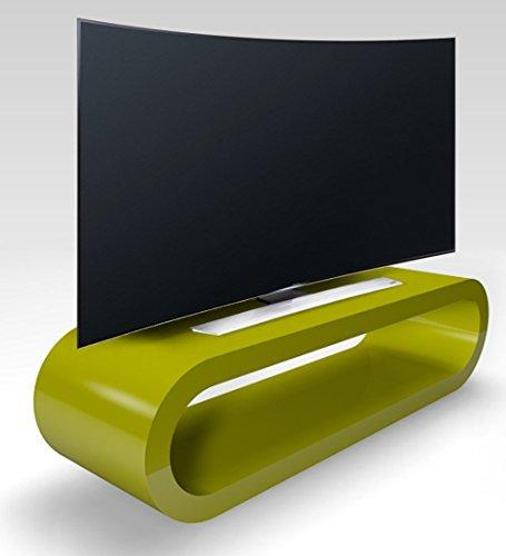 Zespoke Cerceau de Style Rétro Grand Brillant Meuble TV/Armoire 110cm Verte