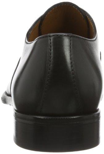 Lottusse L6553-01109-01 - Mocasines para hombre, color Negro (LonDark Old), talla 42 EU (8 UK)