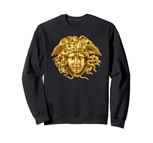 Medusa Head halloween Snake Hair Greek mythology Monster Sweatshirt
