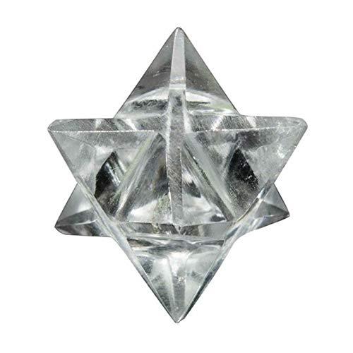 robots master Cristal thérapie Crystal de Quartz Clair Naturel for la guérison Stone Merkaba Star Sacred Géométrie Reiki Guérison Quartz Stone Sculpté Décoration Crafts Chakra