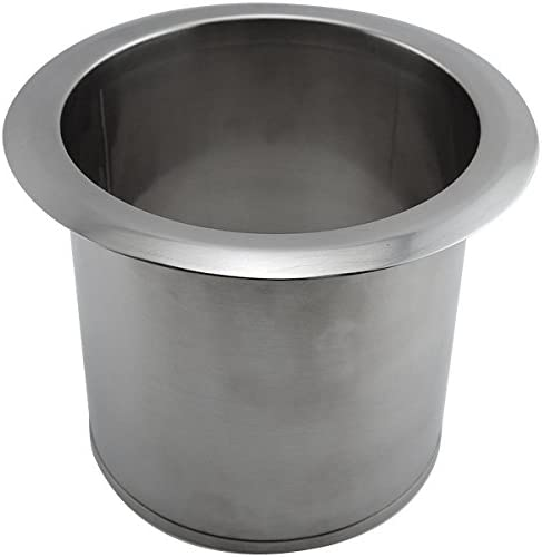 Deluxe KegWorks Built-in Countertop Trash and S - Ranking TOP12 Waste Chute Stainless