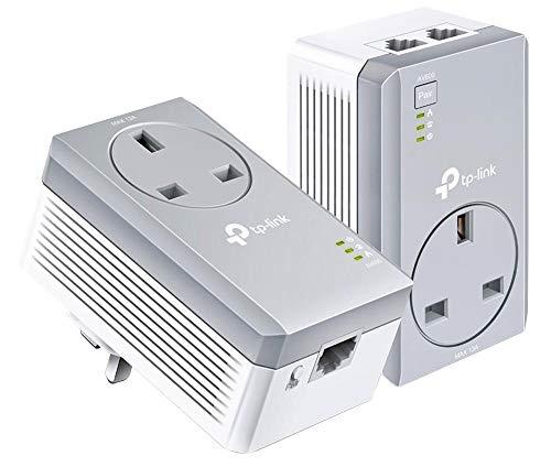 Powerline Kit, Av600 2-Port-Pass...
