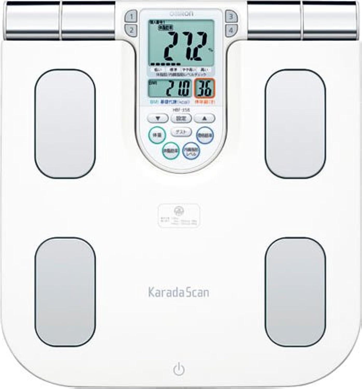 OMRON 体重体組成計 カラダスキャン チェック ホワイト HBF-358-W