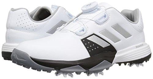 adidas Kids' Jr Adipower Boa Ftwwht/Si Skate Shoe
