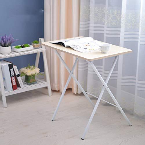 Klapptisch Verstellbarer Tisch Kleiner Tisch Bett mit Laptop-Schreibtisch 4 Farben erhältlich Größe optional Drehbar (Farbe: A)