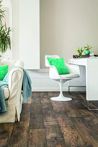 PVC Bodenbelag in grober Landhaus Optik (9,95€/m²), Zuschnitt (2m breit, 6m lang)