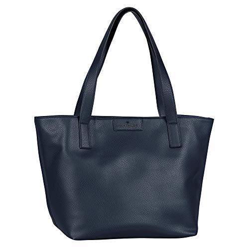 TOM TAILOR bags MIRI ZIP Damen Shopper L, blue, 43/36x17,5x28