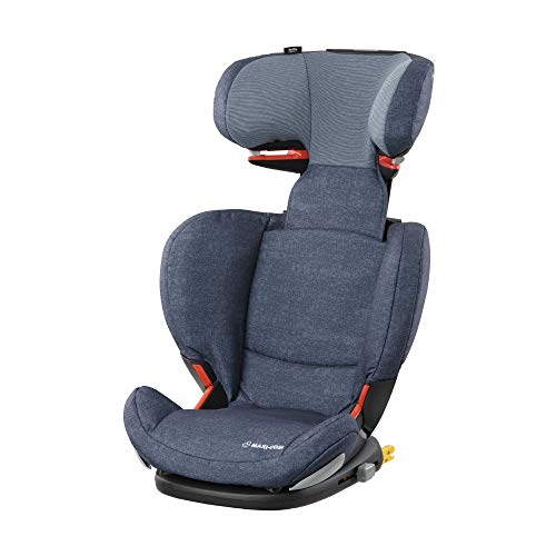 Maxi Cosi RodiFix AirProtect (AP) Kindersitz Gruppe 2/3, ISOFIX-Sitzerhöhung, optimaler Seitenaufprallschutz, 3,5 - 12 Jahre, 15 - 36 kg, (blau) Nomad Blue