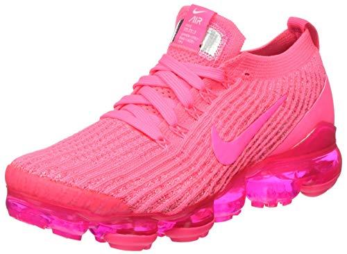 Nike Damen AIR Vapormax Flyknit 3 Laufschuh, Triple Pink, 38 EU