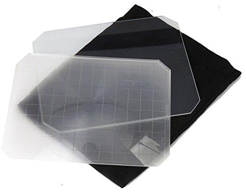 Jieying Yanke Super Bright Fresnel Ground Glass Super Hell Fresnel Glas Mattglas für Toyo Linhof 8x10 Kamera Zubehör