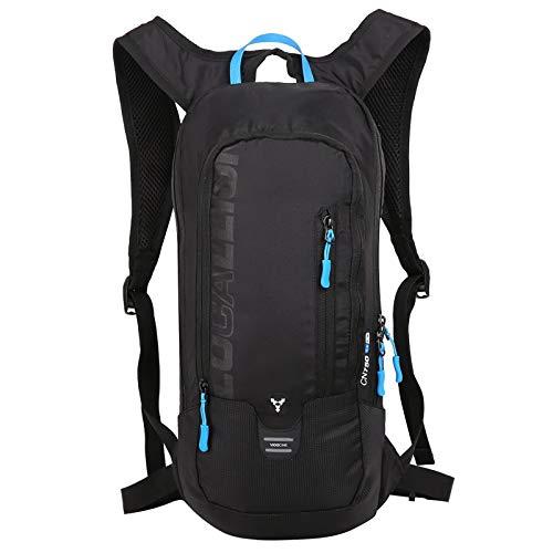 OUTDOOR LOCAL LION 10L Zaino Idratazione Ultraleggero per Alpinismo Escursionismo Zainetto per Ciclismo Backpack di Campeggio Sport Outdoor Unisex per Ciclismo,Nero