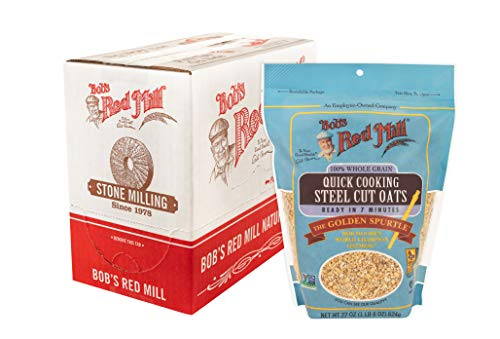 Bob's Red Mill Quick Cooking Steel Cut Oats, 22-ounce (Pack of 4)