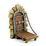 Touch of Nature Miniature Fairy Garden Doors - Fairy Garden Accessories - Miniature Garden - Gnome Garden - Fairy (Draw Bridge)