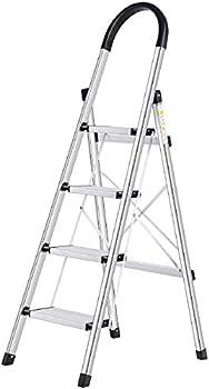 Lionladder 4 Step Ladder with Wide Anti-Slip Pedal