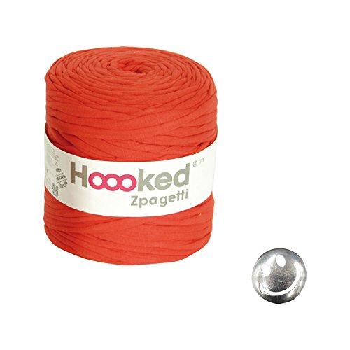 KIYOHARA Hooked Zpagetti (フックドゥズパゲッティ) コンチョボタン スマイル 30mm セット Red