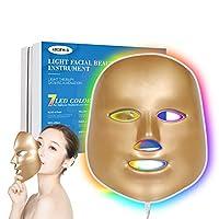 DGYAO 美顔マスクled 赤外線 顔皮膚介護 光エステ フェイス美容 ニキビシワ対策家庭用