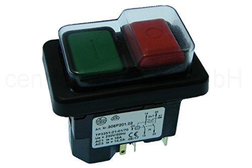Nullspannungsschalter Sicherheitsschalter mit ausgeführter Spule 306P201.02
