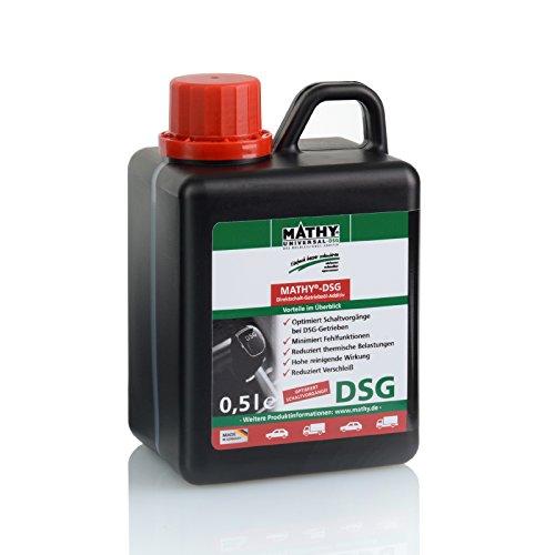 MATHY-DSG Additiv für Direktschalt und Doppelkupplungsgetriebe zum Schutz vor Verschleiß und Vorbeugung von Getriebeschäden 0,5 Liter