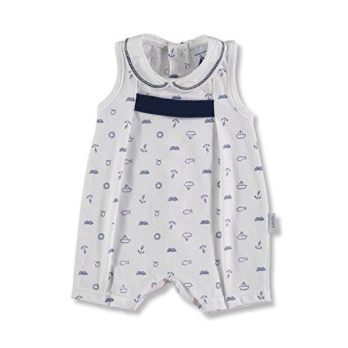 BABIDU 17235 Pelele, Azul (Marino 001), 68 (Tamaño del Fabricante:6) Unisex bebé