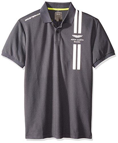 Hackett BRAVOULE Tops y Camisetas Hommes Gris Polos Manga Corta
