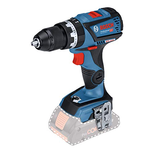 Bosch Professional GSB Brushless Combi Drill Driver, 18 V - Blue