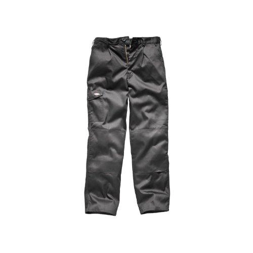 Dickies Redhawk Super Arbeitshose für Männer, Standard Beinlänge (48W x Regular) (Grau)