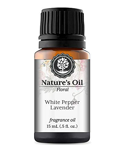 White Pepper Lavender Fragrance Oil (15ml) For Diffusers, Soap Making, Candles, Lotion, Home Scents, Linen Spray, Bath Bombs, Slime